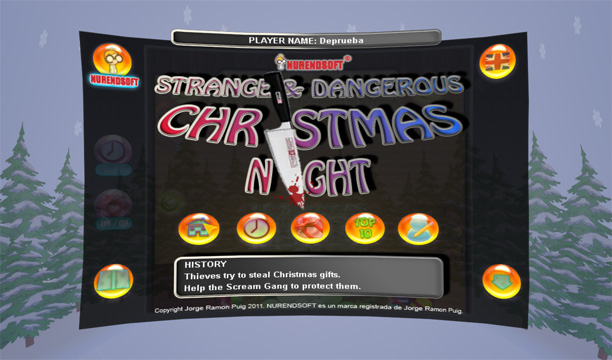 Strange & Dangeorus Xmas Night